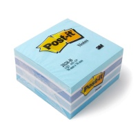 Post-it® Haftnotiz-Würfel blau