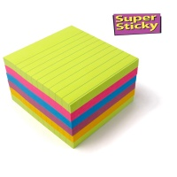 Post-it® Signal Notes liniert 6 Blöcke