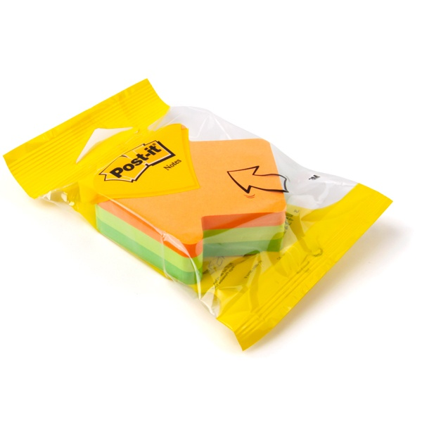 Post-it® Notes Arrow Shaped