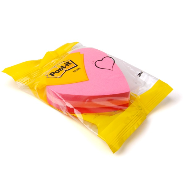 Post-it® Notes Heart Shaped