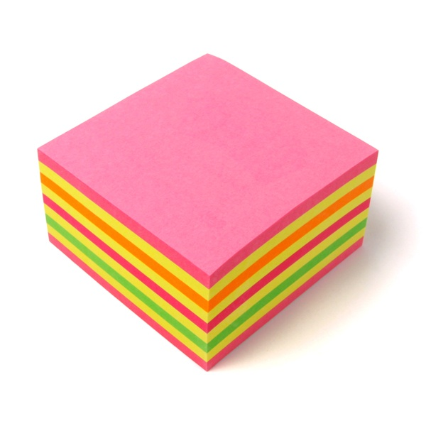 Post-it® Haftnotiz-Würfel color